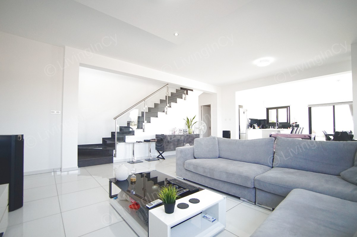 New 3 Bedroom Detached House For Rent In Tseri Nicosia