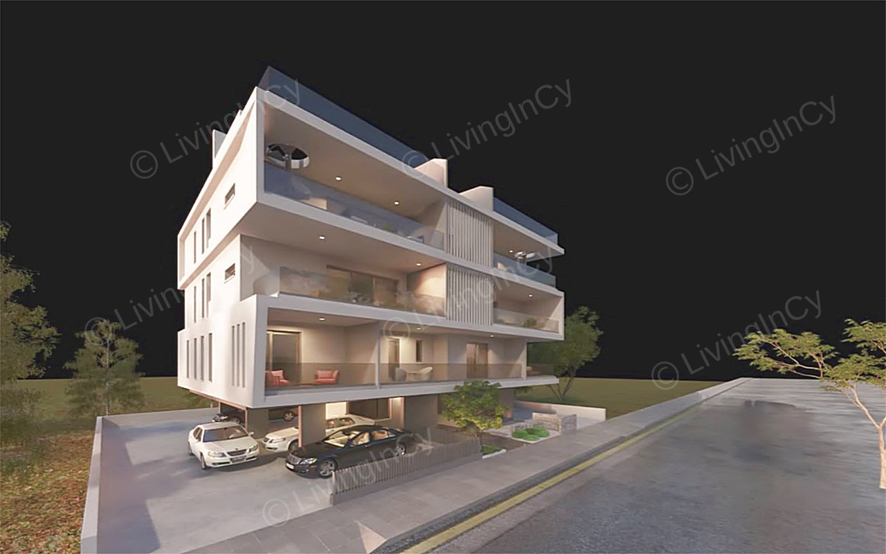 Flat For Sale In Strovolos With Roof Garden