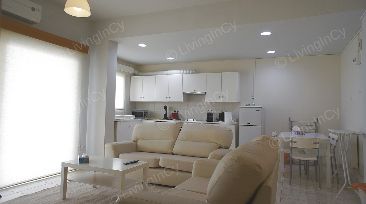 Apartment 1 Bed For Rent In Nicosia City Center